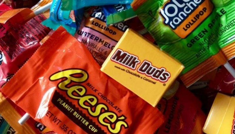 Halloween Candy with Braces